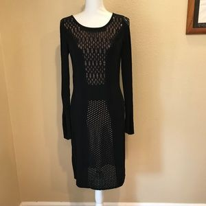 Catherine Malandrino Long Sleeve Sweater Dress